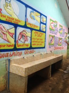 Handwashing facility constructed at Balighot elementary School