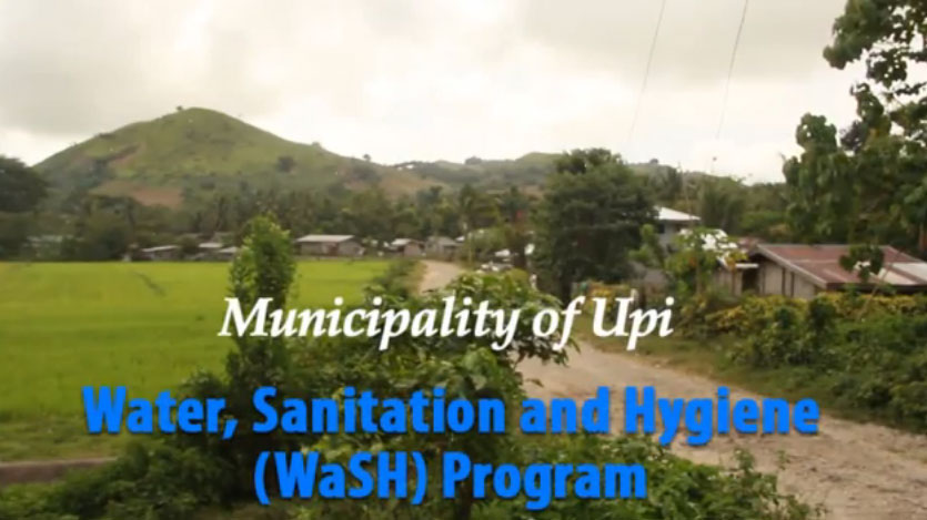 The Municipality of Upi and their WaSH Program